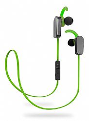 Jarv NMotion PLUS Sport Wireless Bluetooth 4.0 Stereo Earbuds with Built in Microphone, Green