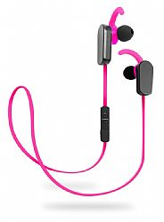 Jarv NMotion PLUS Sport Wireless Bluetooth 4.0 Stereo Earbuds with Built in Microphone, Pink
