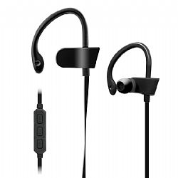 Jarv BTHL-52 Bluetooth headphones with built in Mic and Volume control -Black