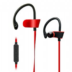 Jarv BTHL-52 Bluetooth headphones with built in Mic and Volume control -Red