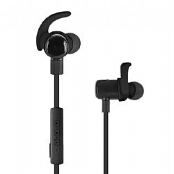 Jarv NMotion EXCEL Sport Wireless Earbuds. Sweatproof and Water Resistant  - Black