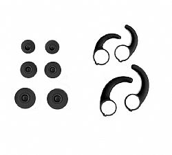 Jarv NMotion Advance BTHL-101 Bluetooth Earbuds Replacement Clip Kit-1 collar clip and 1 sizing clip