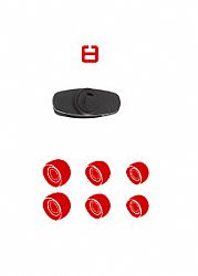 Jarv Mach 1 Wireless Bluetooth  Earbuds spare parts kits Red