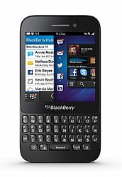 Blackberry Q5 Smartphone (3G 850MHz AT&T) Black Unlocked Import
