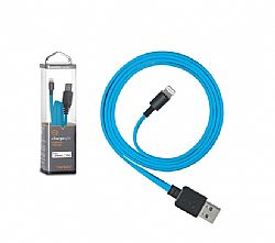 Ventev chargesync Cable (USB A to Lightning) for iPhone 5 - Blue