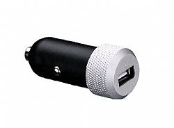 Just Mobile Highway Car Charger - Silver /Black