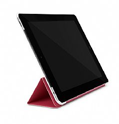 Incase Magazine Jacket for iPad 3 (Cranberry/White)