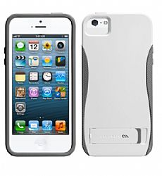 Case-Mate Pop! Stand Case for Apple iPhone 5s/5 White/Grey