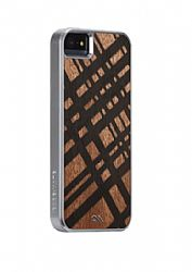 Case-Mate Carved Mahogany Wood Case for iPhone 5/5S - Brown