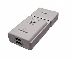 Sony CP-A2LS Portable USB Battery Charger 4,000 mAh for Sony RX100, Xperia TL and Other Mobile Devices