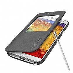 Seidio LEDGER View Case with Metal Kickstand - Dark Gray