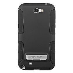 Seidio ACTIVE Case with Metal Kickstand for Samsung Galaxy Note 2 II - Black