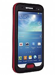 Seidio OBEX Waterproof Case for Samsung Galaxy S4 - Black/Red