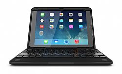 CruxCase Crux360 Bluetooth Keyboard Case for iPad Air - Black