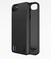 uNu DX Protective Battery Case for iPhone 5/5s - Black
