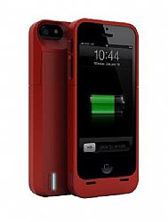 uNu DX Protective Battery Case for iPhone 5/5s - Red