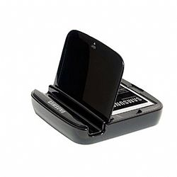 Samsung Battery Charger with Stand for Galaxy Note 2 II OPEN BOX