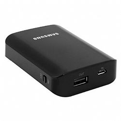 Samsung Universal Battery Pack 9000mAh with Cables OPEN BOX