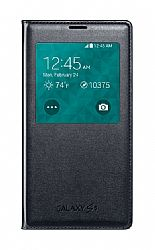 Samsung S-View Flip Cover for Samsung Galaxy S5 - Black