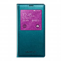Samsung S-View Flip Cover for Samsung Galaxy S5 - Green