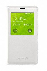 Samsung S-View Flip Cover for Samsung Galaxy S5 - White