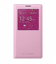 Samsung S View Flip Cover for Samsung Galaxy Note 3 - Pink OPEN BOX