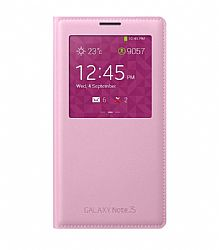 Samsung S View Flip Cover for Samsung Galaxy Note 3 - Pink