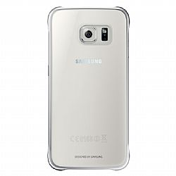Samsung Clear Protective Cover for Samsung GS6 - Silver