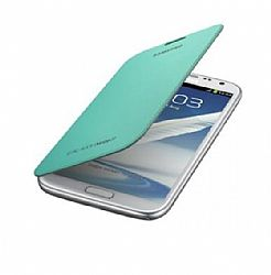 Samsung Flip Cover Case for Galaxy Note 2 II (Mint) OPEN BOX