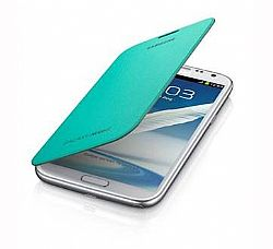 Samsung Flip Cover Case for Galaxy Note 2 II (Mint)