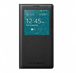 Samsung S View Flip Cover for Samsung Galaxy Note 3 - Black