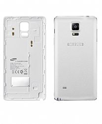 Samsung Wireless Charging Cover for Galaxy Note 4 - White