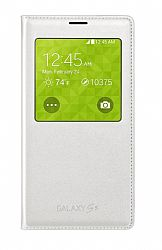 Samsung S-VIEW Wireless Charging Cover Case for Samsung Galaxy S5- White