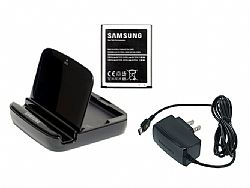 Samsung Spare Battery Charging System w/ 2100mAh Battery & Charging Stand for Samsung Galaxy S3 III