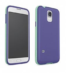 Belkin Grip Candy 1.5 Case for Galaxy S5 - Purple/Jade