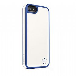 Belkin Grip Max Case for New iPhone 5 (Whiteout/Civic Blue)