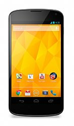 Google Nexus 4 E960 8GB by LG (3G 850MHz AT&T /1700MHz T-Mobile) White Unlocked Import