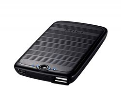 MiLi Power Sunny-3100mAh-Power Bank for iPhone 5, iPhone 4/4S, and Most phones charging through USB