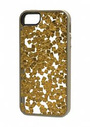 M-Edge Stripped Case for Apple iPhone 5s/5 - Gold Flakes