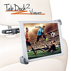 iBOLT TabDock 2 Headrest Viewer Kit. Works With All 7-10 Tablets , Such as, iPad, iPad Air, Samsung Galaxy Tab, Google Nexus, Asus VivoTab Note 8
