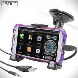 iBolt xProDock for Samsung with 9ft charge/aux-cable OPEN BOX