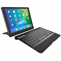 ZAGG Slim Book Pro-Apple iPad Pro 9.7-Black Case with Kickstand-Black KB