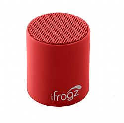 Ifrogz Coda POP Bluetooth Speaker - Black Cherry Red