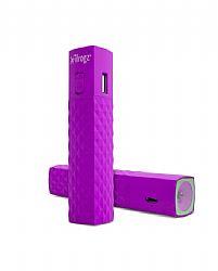 iFrogz GoLite 2600 mAh battery Backup + Flashlight - Purple