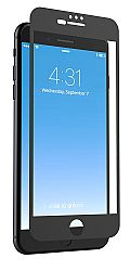 ZAGG InvisibleShield Glass+ Luxe HD Clarity Screen Protector for Apple iPhone 7, iPhone 6s, iPhone 6 - Black