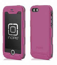 Incipio Technologies Atlas ID Case for Apple iPhone 5s/5 - Pink/Gray
