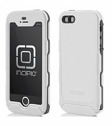 Incipio Technologies Atlas ID Case for Apple iPhone 5s/5 - White/Gray