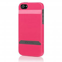 Incipio Stashback Case for New iPhone 5 (Pink/Gray)