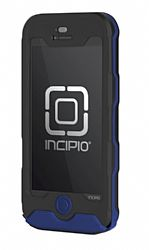 Incipio ATLAS Waterproof Case for New iPhone 5 (Black/Blue)