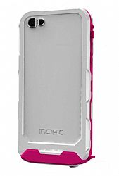 Incipio ATLAS Waterproof Case for New iPhone 5 (White/Pink)